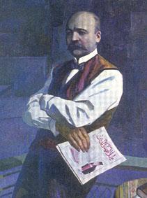 Portrait of Jalil Mammadguluzade