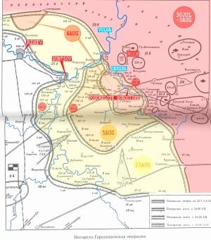 31-ci ordunun 88-ci atıcı diviziyası Poqoreloye Qorodişşe əməliyyatında, 30 iyul – 23 avqust 1942-ci il.