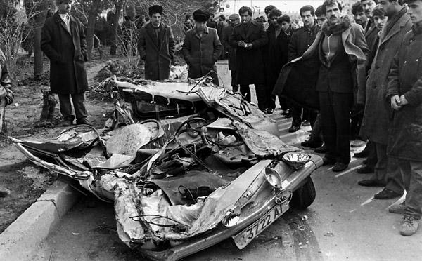 Morning of 20 January 1990, Baku