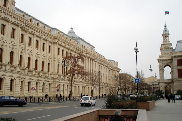 Baku Educational Complex No.132-134 after a major reconstruction in 2009-2010