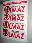 """""""Olmaz"""" posteri bir ay sonra. 12 oktyabr 2011"""
