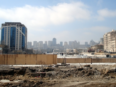 Winter Park construction area. 22 March 2013